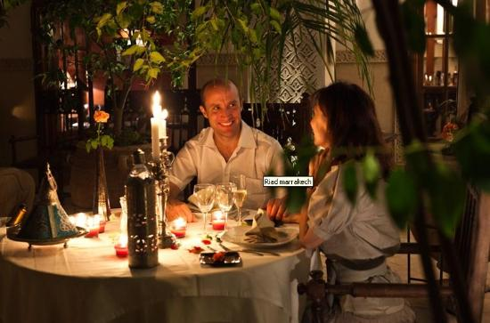 Demeures d'Orient: Diner Chandelles