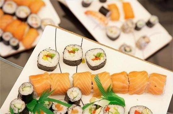 InterContinental Hotel Warsaw: Sushi Buffet