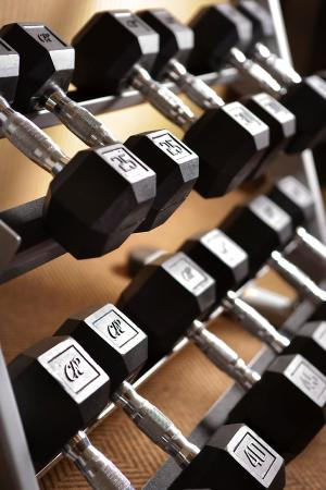 Ayres Hotel & Spa Moreno Valley: Fitness Center Free Weights