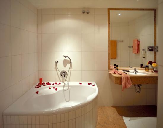 Hotel Goldener Brunnen: Bathroom