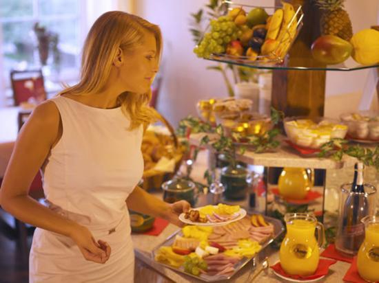 Hotel Goldener Brunnen: Breakfast