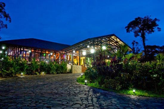 Rio Celeste Hideaway Hotel: main building
