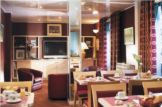 Hotel du Lion : Breakfastroom