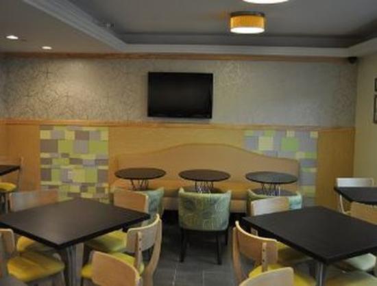 Ramada Staten Island: Breakfast Area