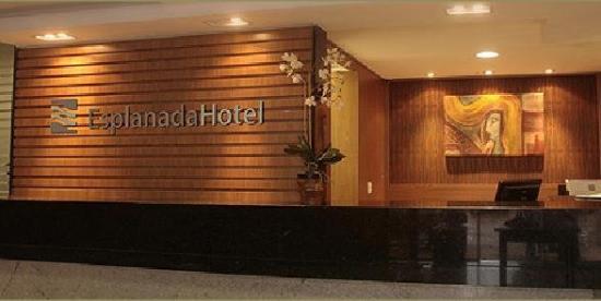 Esplanada Brasilia Hotel: Esplanada Lobby