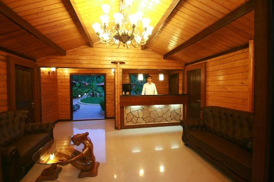 The Fern Gardenia Resort : Reception Interior