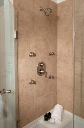 Berlin Grande Hotel: Suite Shower