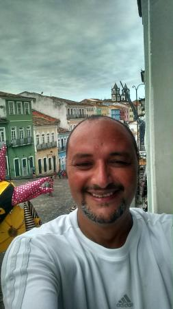 Hostel Pousada Pais Tropical : Así se ve el Pelohuriño desde el hostel