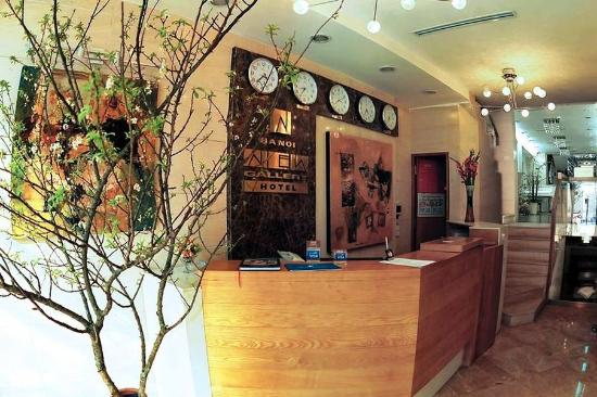 Nova Hotel: Reception