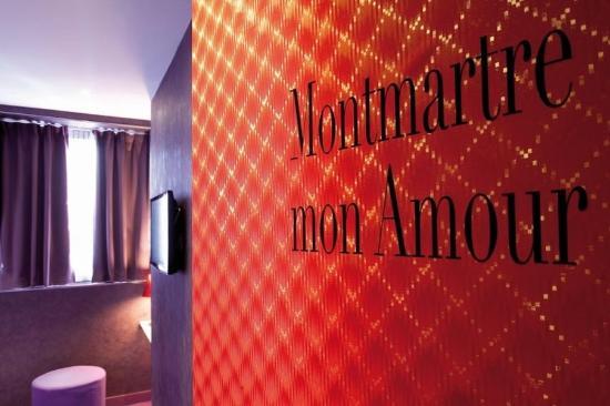 Hôtel Montmartre Mon Amour : guest room
