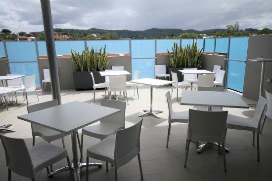 Jephson Hotel: Function Terrace