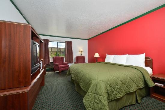 Americas Best Value Inn: One King Room