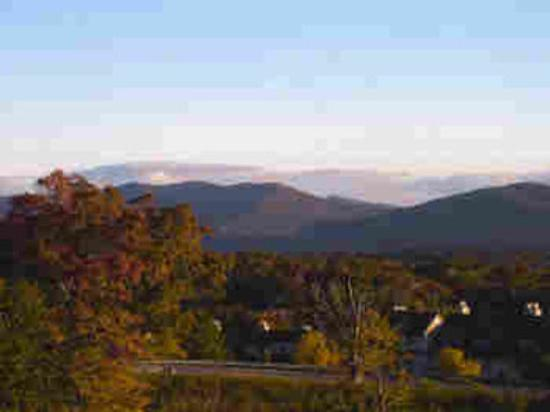 Cascades Lodge Killington: Fall, a patchwork quilt