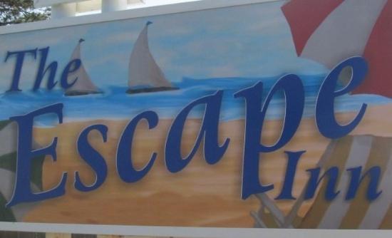 The Escape Inn Sign