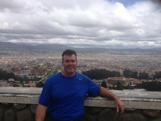 "Hotel El Conquistador : View overlooking the ""red"" city"