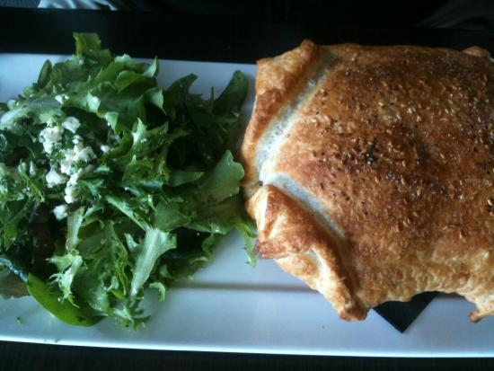 Sfuso: Stout and Beef Pot Pie with greens