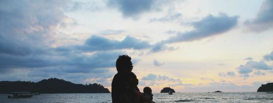 Puteri Bayu Beach Resort: the view