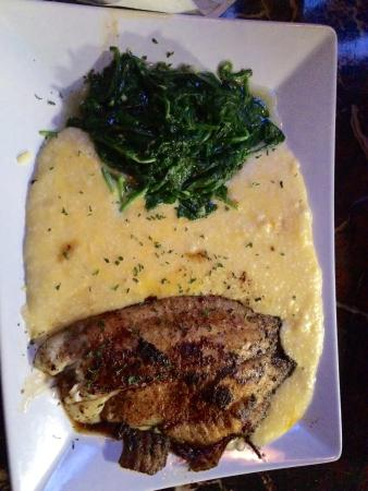 Fish grits picture of infuse restaurant temple hills for Fish and grits near me