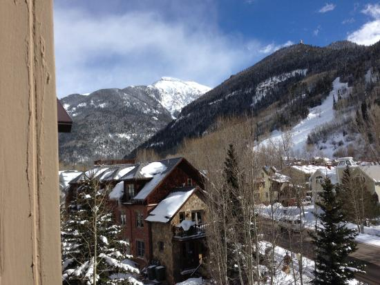 The Hotel Telluride: View from Balcony II