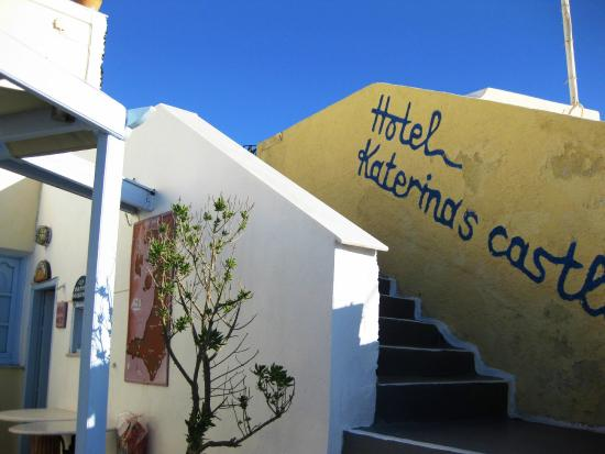 Hotel Katerina's Castle: Quaint gettaway