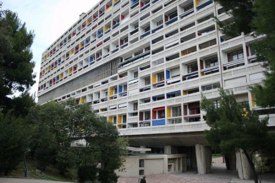 Hotel le Corbusier: 建物外部