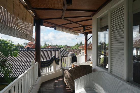 Ubud Villas and Spa: rooftop views