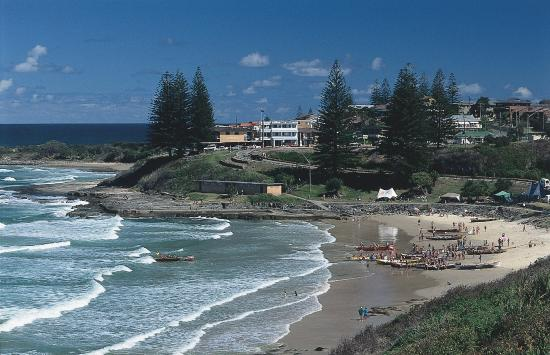 yamba from the sky picture of yamba new south wales. Black Bedroom Furniture Sets. Home Design Ideas