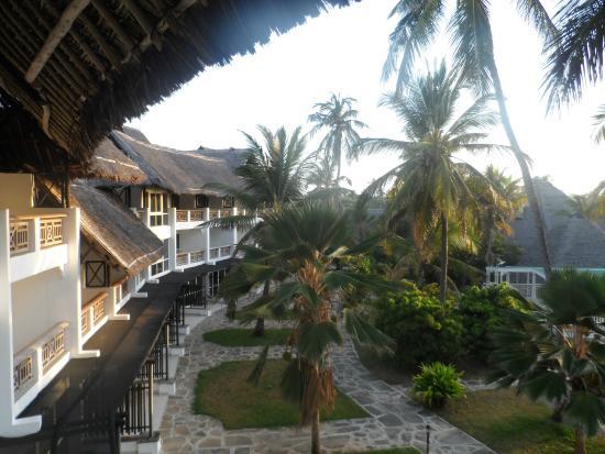 Hemingways Resort: View from my second floor room Balcony