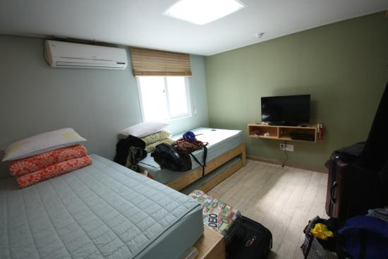 Guesthouse The Hill : triple room