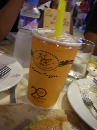 Figaro Coffee: snack at Figaro Cafe