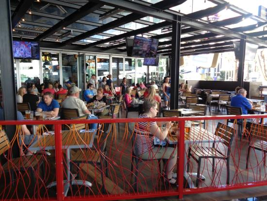 Patio - Picture of Guy Fieri\'s Vegas Kitchen and Bar, Las Vegas ...