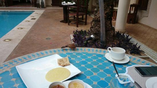 Demeures d'Orient: desayuno pobre