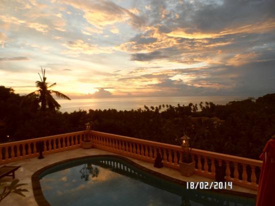 Sunset Lavinia Hotel: Le coucher de soleil sur Bali