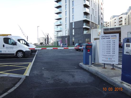 Premier Inn Titanic Quarter Car Parking