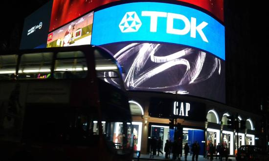 Piccadilly Circus: logo