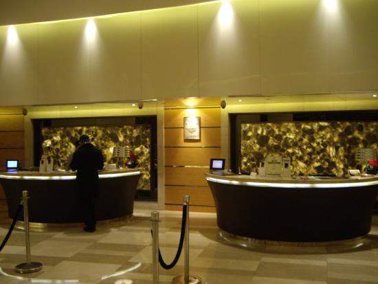 Hotel Nikko Shanghai: フロント