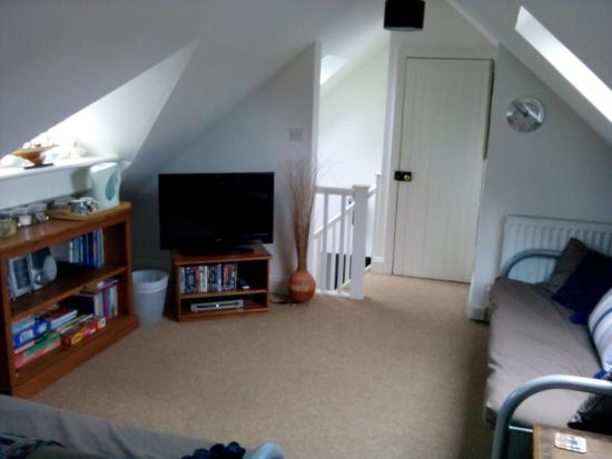 Glen Avon Bed & Breakfast: Flat screen TV plus DVD player