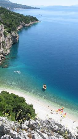 Makarska, Chorwacja: beach Nugal