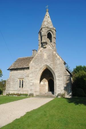Grittleton, UK: Not, it's not a church.   This is Sevington school, Wiltshire's best kept secret.
