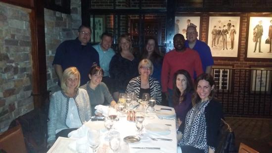 DeBary Inn: Team dinner at Roots restaurant!