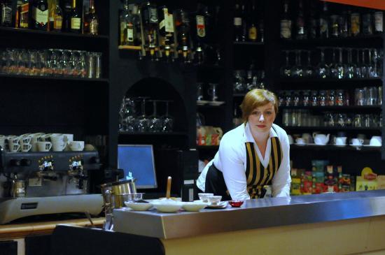 Hotel Galerija: reception department