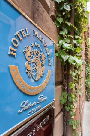 Hotel Manfredi Suite in Rome: Esterno