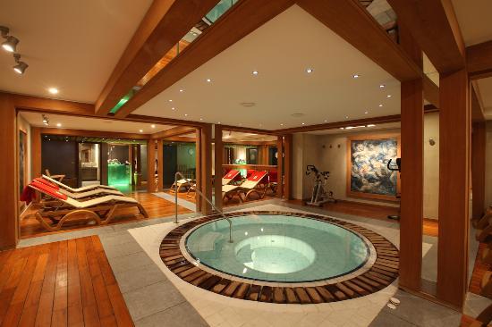 Hotel la Savoyarde: Espace détente pour se relaxer après une journée de ski