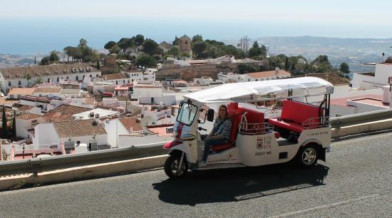 Tuk Tuk Spain: Spectacular views of Mijas and the Mediterranean