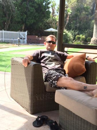 San Clemente, Καλιφόρνια: Relaxing gazebo