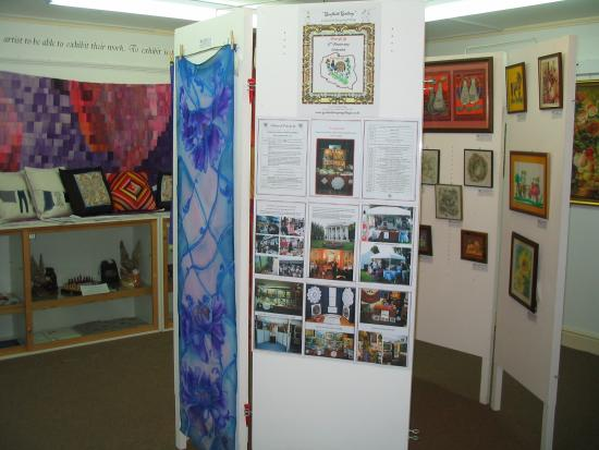 Gosfield, UK: March 2015, exhibition of 15th Anniversary of Polcraft Ltd at Gosfied Gallery