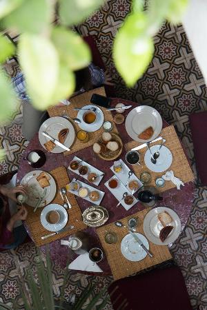 Riad Dar Tayib: Breakfast