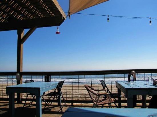 View From Restaurant Picture Of Seahorse Bar Grill Surfside