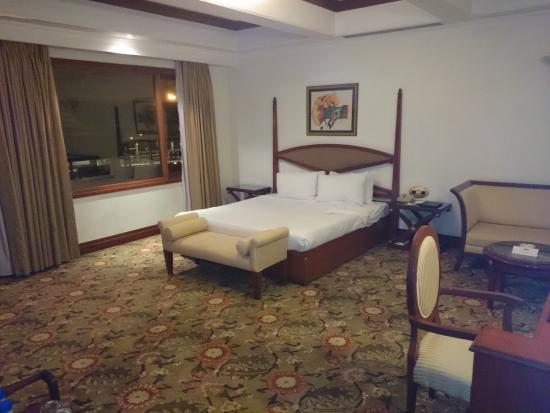 Hotel Vikram: side view of room