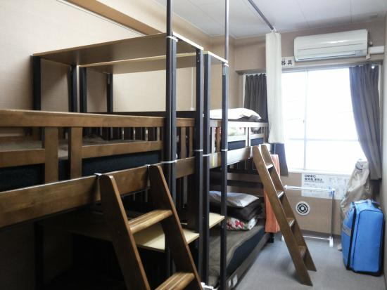 Anne Hostel Asakusabashi : ini kamar tidurnya
